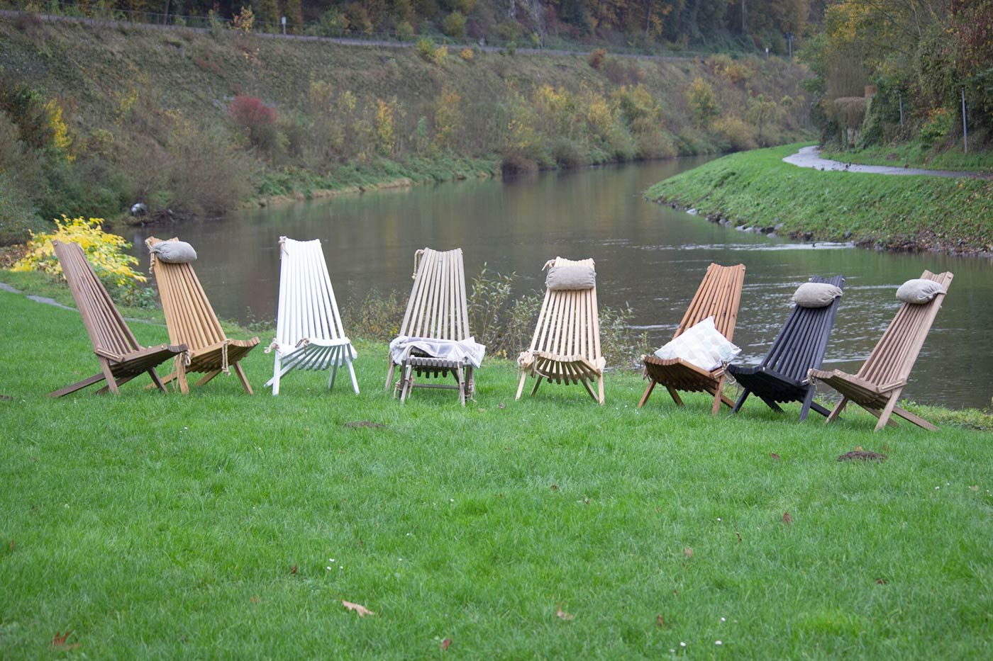Relax Sessel aus Holz